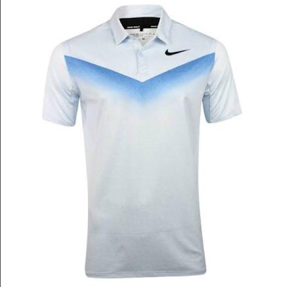 562c9048 Nike Shirts   Nwt Mens Dry Golf Chevron Polo   Poshmark